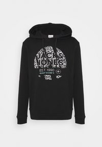 Jack & Jones - JCOBOOSTER HOOD - Sweatshirt - black - 4