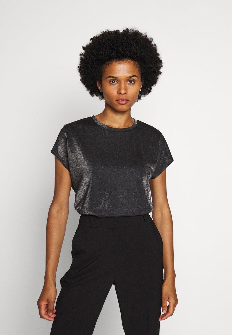 HUGO - DIJALLA - Basic T-shirt - black