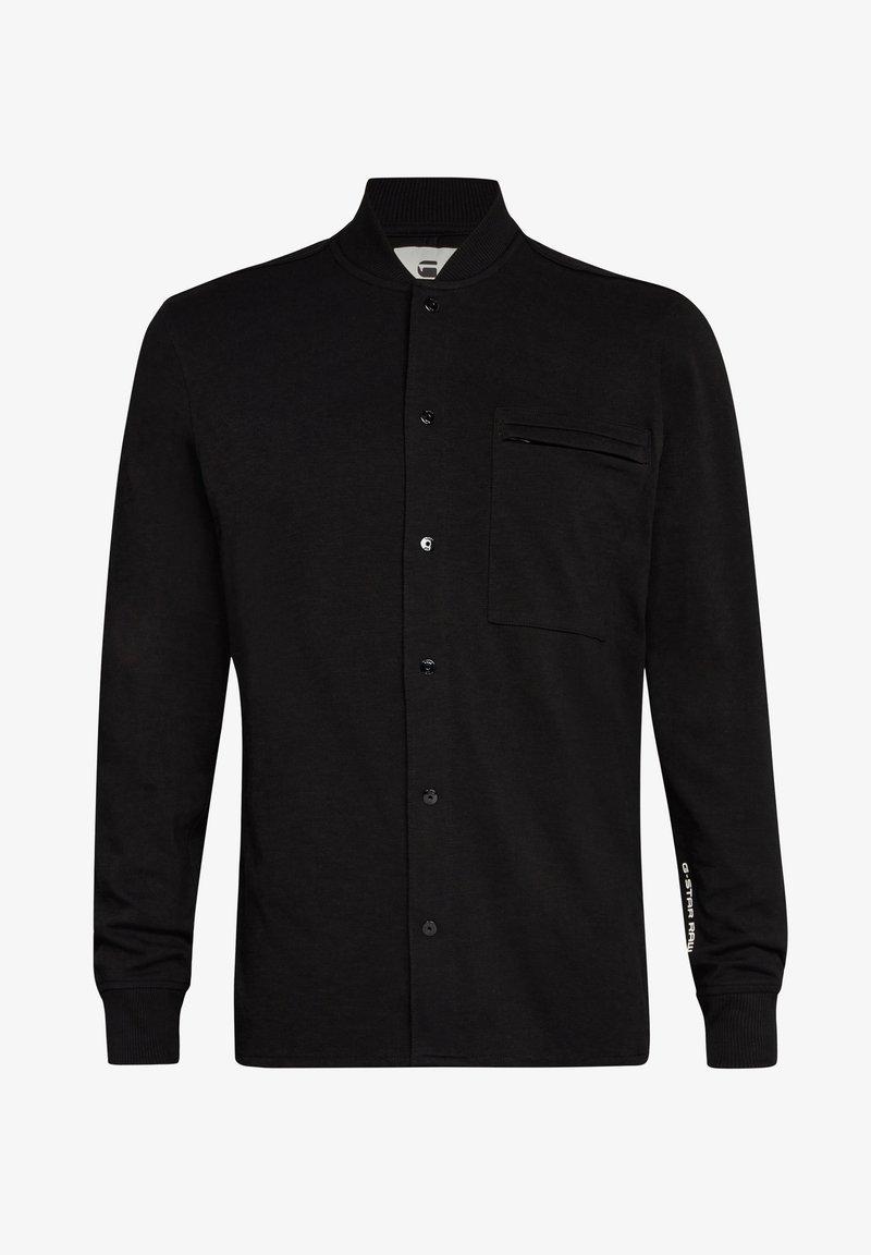 G-Star - BASEBALL  ZIP POCKET - Shirt - dk black