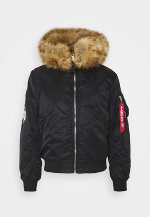 HOODED ARCTIC - Winterjas - black