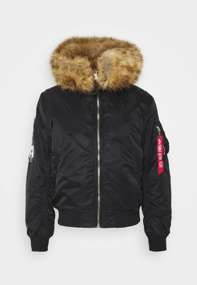 Alpha Industries - HOODED ARCTIC - Winter jacket - black