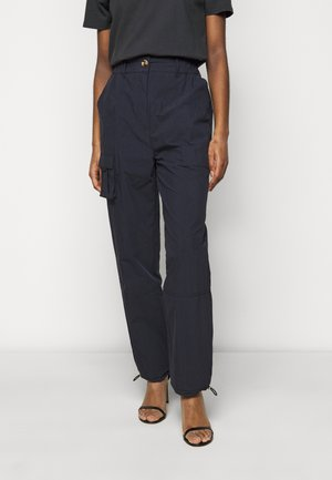 CARGO PANTS - Trousers - dusty navy