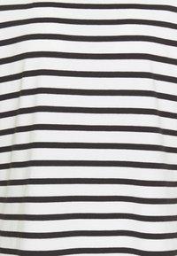 kate spade new york - STRIPE PUFF SLEEVE DRESS - Jersey dress - cream - 2