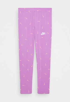FAVORITES - Legginsy - violet star/white