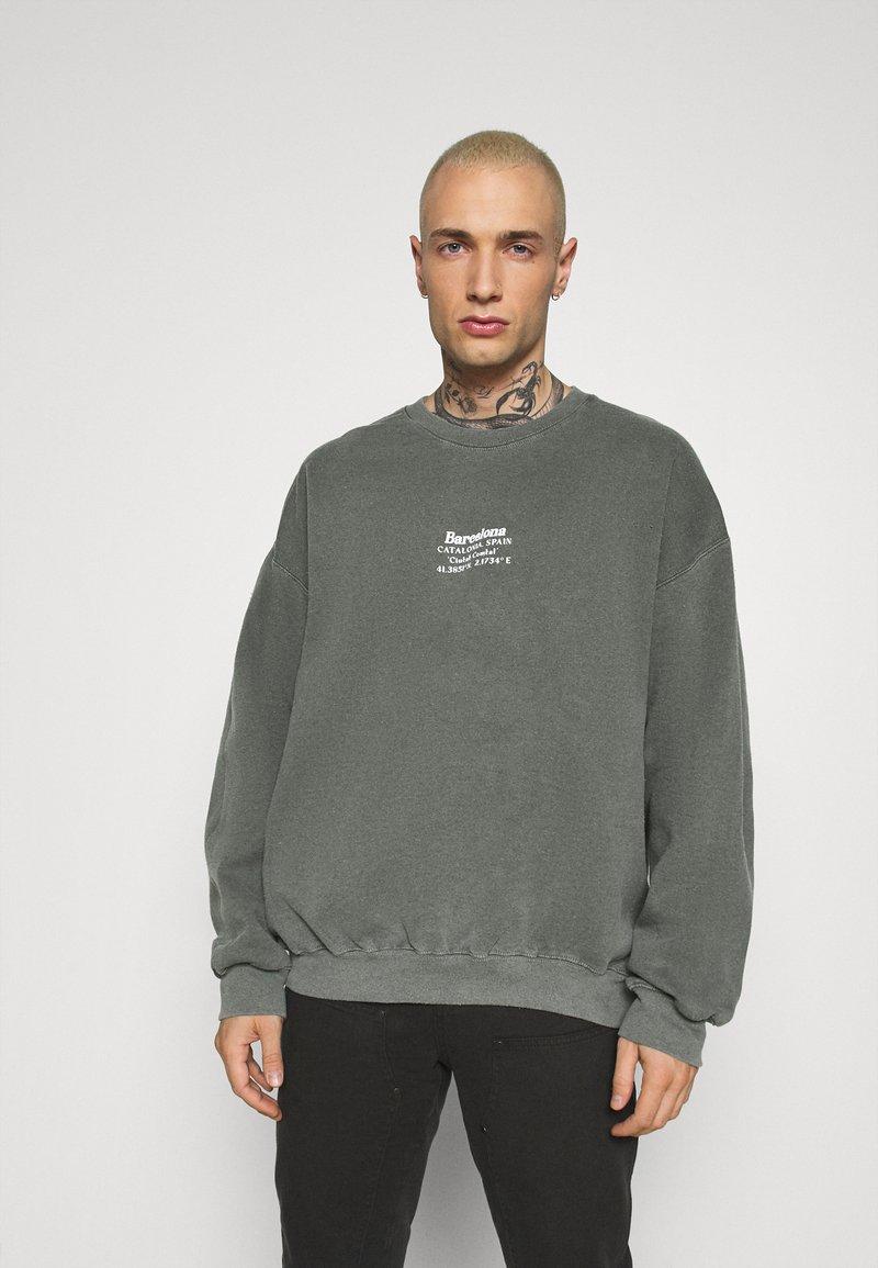 Topman - AIRES HERTIGAE - Sweater - khaki