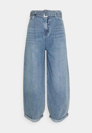 Relaxed fit jeans - indigo denim