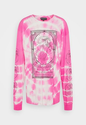 OPERA LADY TIE DYE TEE - Long sleeved top - pink