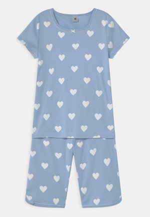 HEART CROPPED  - Pyjama set - jasmin/marshmallow