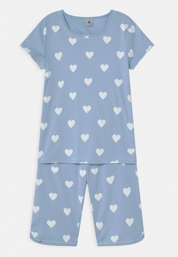 HEART CROPPED  - Pyjama set - jasmin/marshmallow