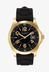 Guess - UNISEX SPORT DATE - Watch - black/gold-coloured - 0