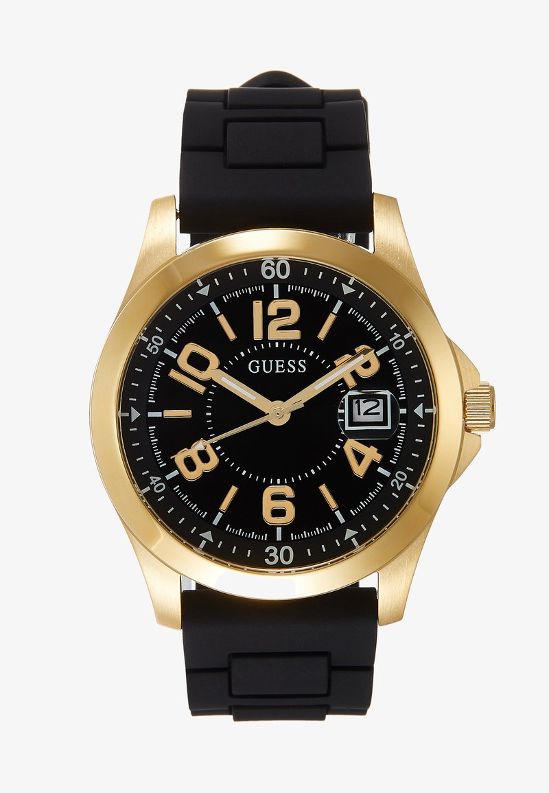 Guess - UNISEX SPORT DATE - Watch - black/gold-coloured