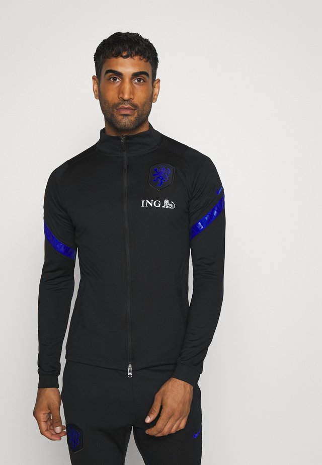 NIEDERLANDE DRY SUIT - Voetbalshirt - Land - black/bright blue