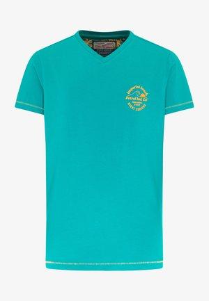 T-shirt print - miami green