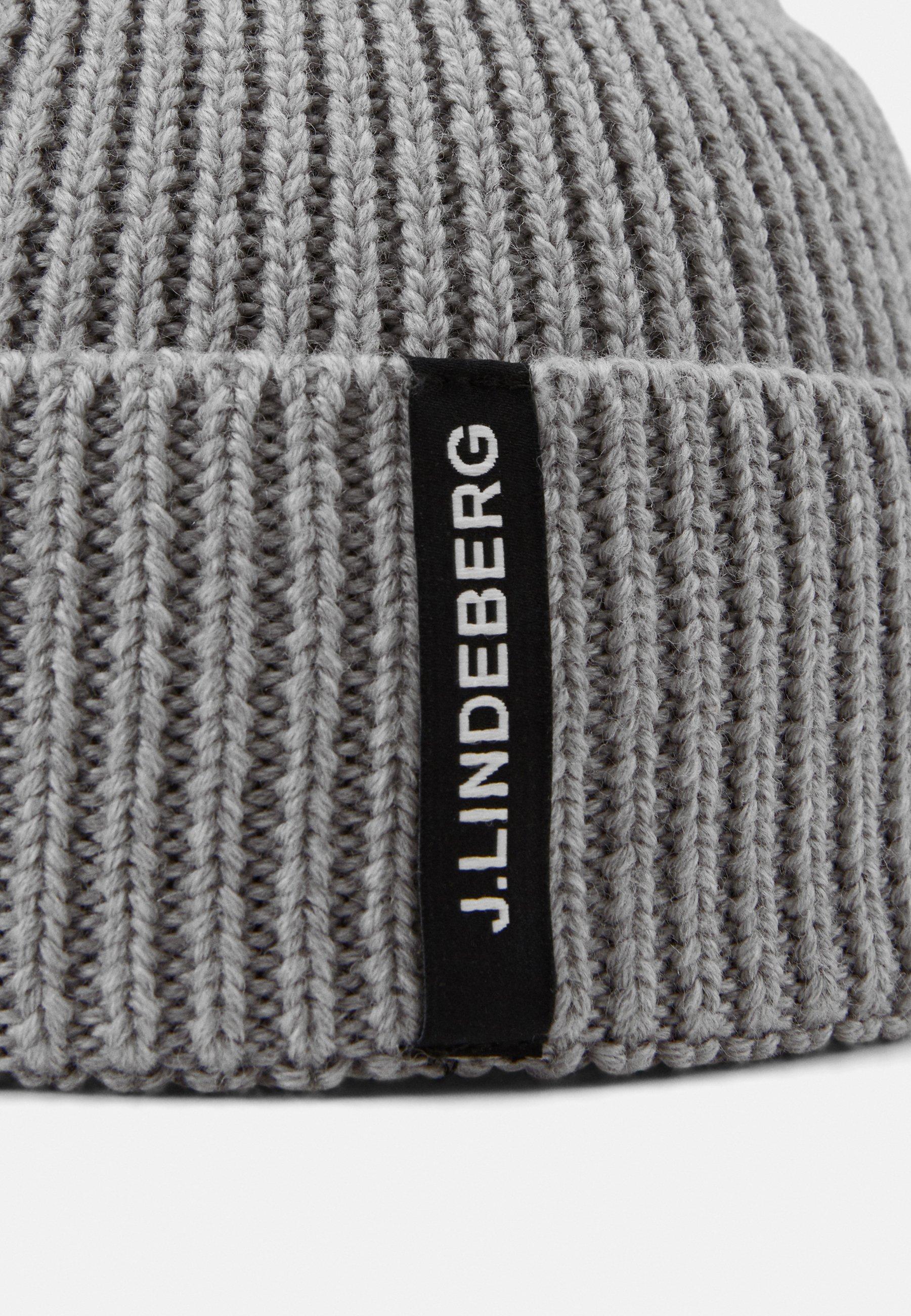J.lindeberg Juan Beanie - Mütze Grey Melange/grau