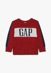GAP - TODDLER BOY ARCH - Jumper - modern red - 0