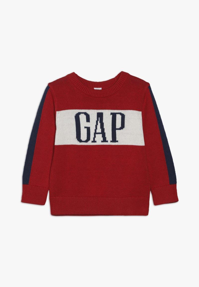 GAP - TODDLER BOY ARCH - Jumper - modern red