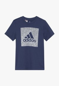 adidas Performance - BOS BOX - Camiseta estampada - dark blue - 0
