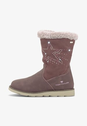 Winter boots - old rose