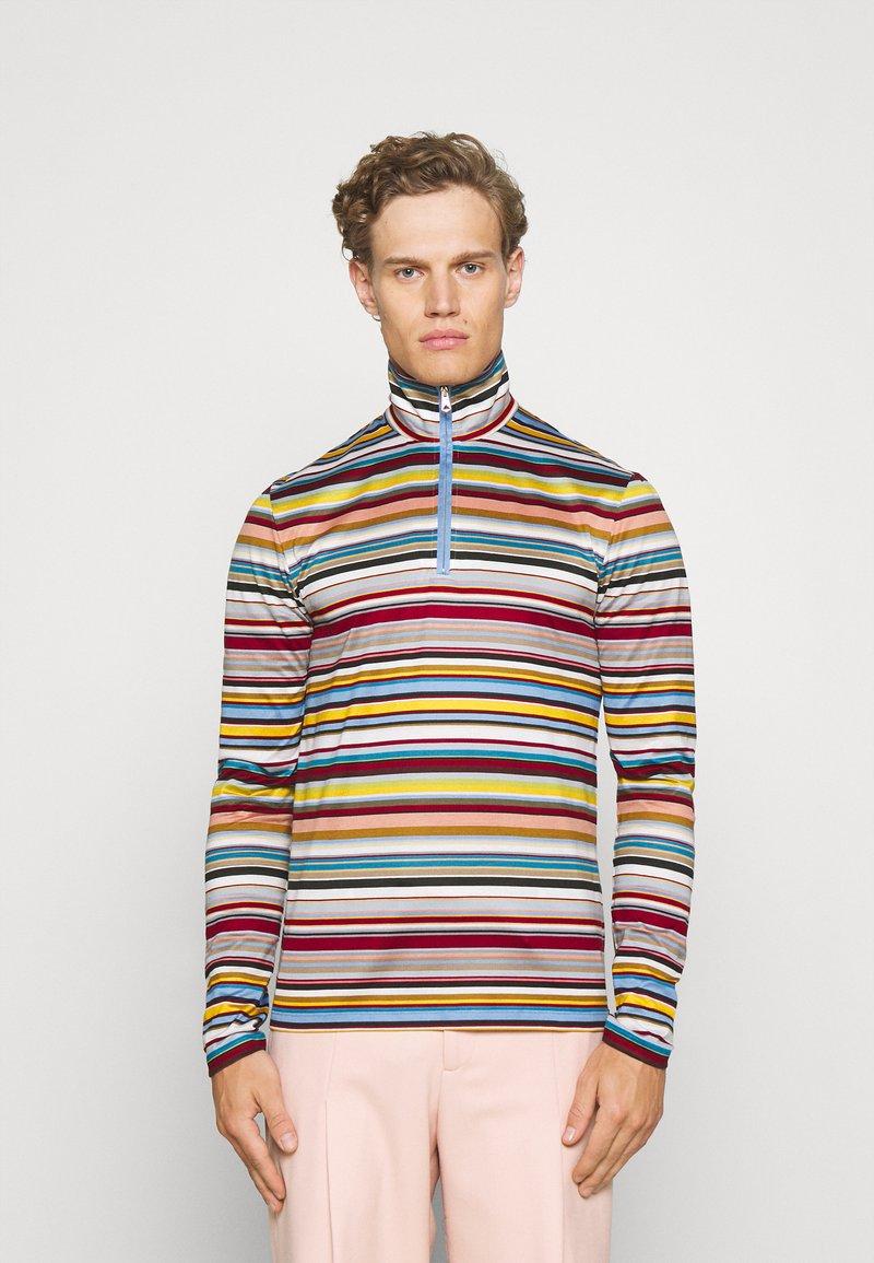 Paul Smith - ZIP NECK - Longsleeve - multicoloured