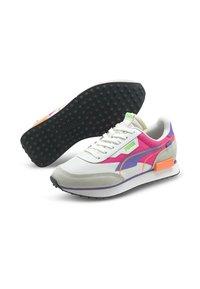 Puma - FUTURE RIDER TWOFOLD UNISEX - Trainers - puma white luminous purple - 2