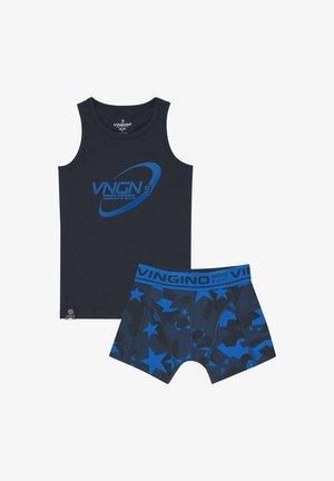 Underwear set - dark blue