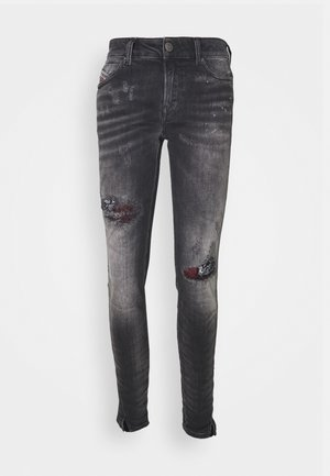 D-JEVEL-SP - Skinny džíny - washed black
