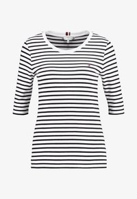 Tommy Hilfiger - ESSENTIAL - Print T-shirt - black/white - 3