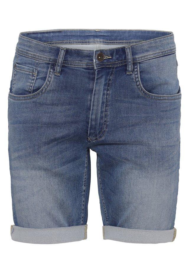 Denim shorts - soft blue wash