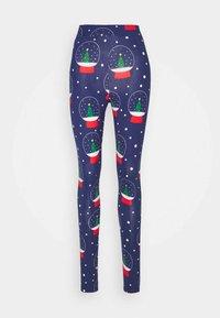 Monki - ED - Leggings - Trousers - blue - 3