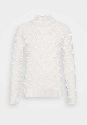 NANDO - Jumper - white