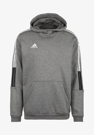 Sweat à capuche - grey four mel