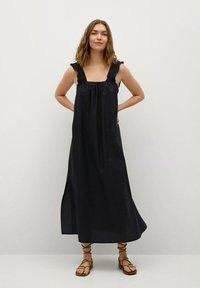 Mango - Day dress - noir - 0