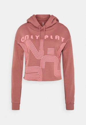 ONPJANAY HOOD - Hoodie - withered rose/tea rose