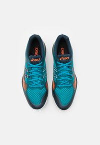 ASICS - GEL COURT HUNTER - Zapatillas de tenis para todas las superficies - teal blue/french blue - 3