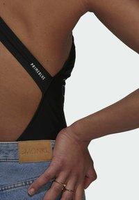 adidas Originals - SWIMSUIT PB - Swimsuit - black - 4