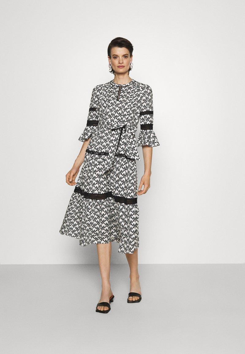 Diane von Furstenberg - JULIA DRESS - Day dress - black