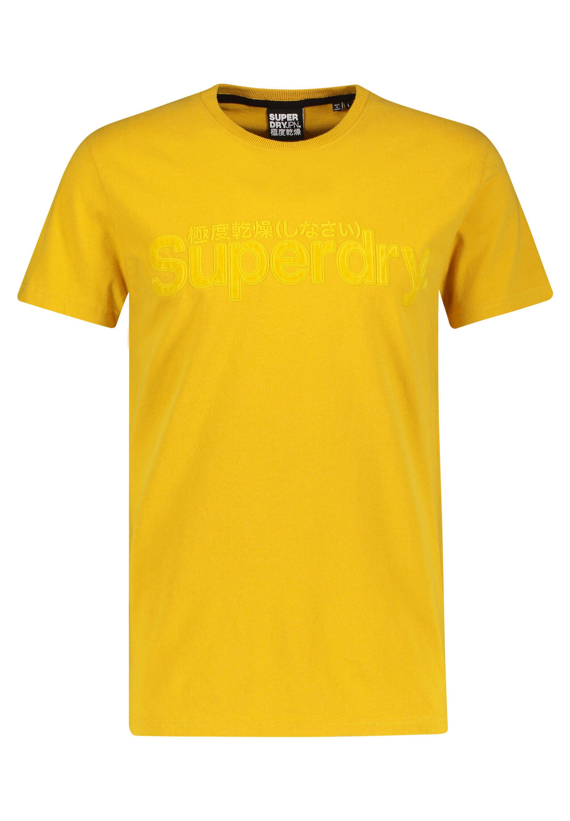 Herren SUPERDRY CORE FAUX SUEDE T-SHIRT - T-Shirt print