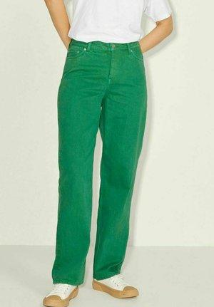 Straight leg jeans - jolly green