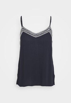 VMNEWHOUSTON SINGLET - Toppi - navy blazer/white