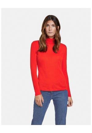 LONGSLEEVE - Long sleeved top - chili