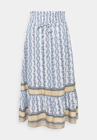 Cream - CROLINA SKIRT - A-line skirt - blue - 0