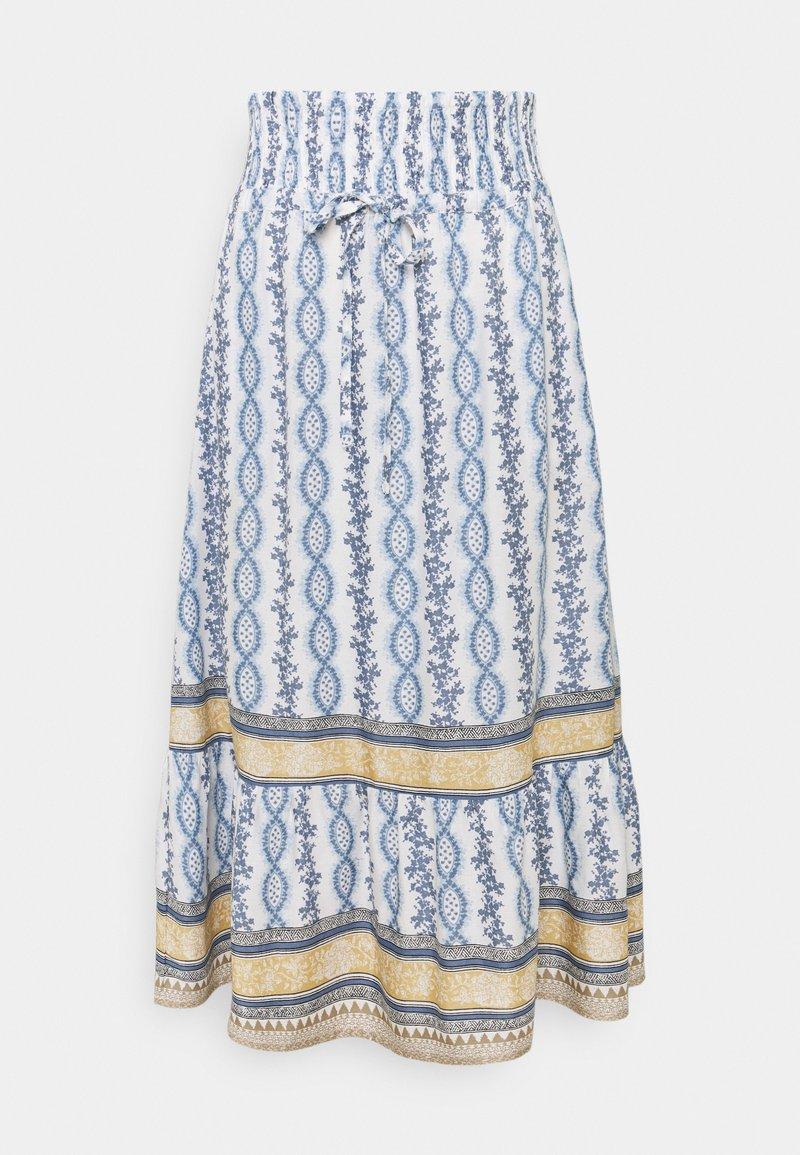 Cream - CROLINA SKIRT - A-line skirt - blue