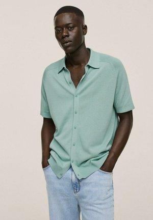 REGULAR FIT - Camicia - wassergrün