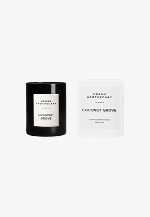 LUXURY BOXED GLASS CANDLE - Duftlys - coconut grove