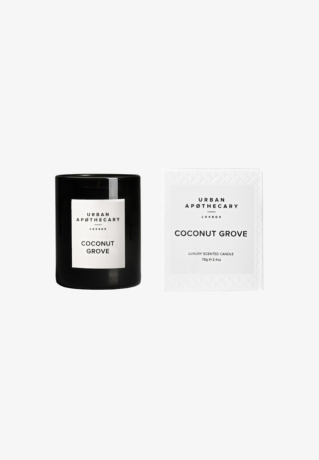 LUXURY BOXED GLASS CANDLE - Scented candle - coconut grove