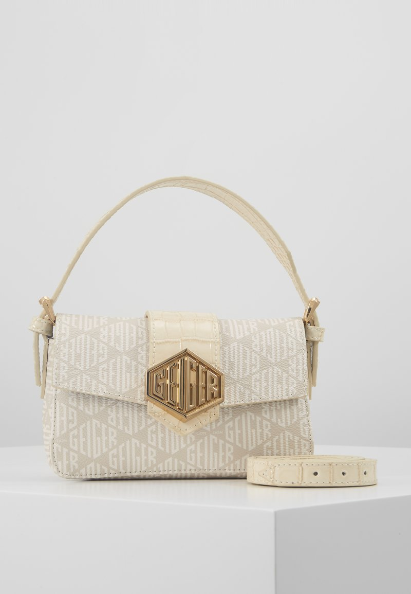 Kurt Geiger London - GEIGER MINI BAG - Handbag - bone