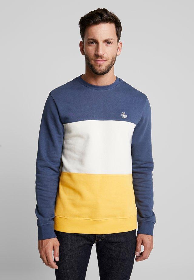 COLORBLOCK CREW - Sweatshirt - saragasso sea