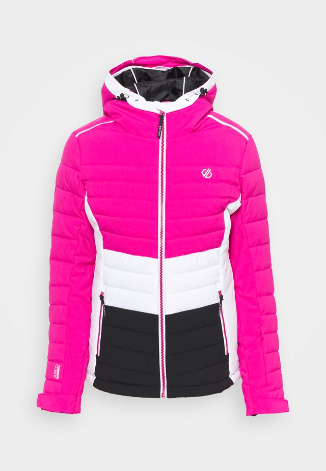 SUCCEED JACKET - Ski jacket - active pink/black