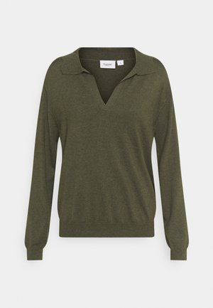 EDITHA - Jumper - army green melange