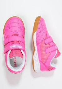 Kappa - KICKOFF  - Sports shoes - pink/white - 1